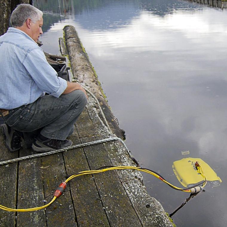 ROV test in Howe Sound